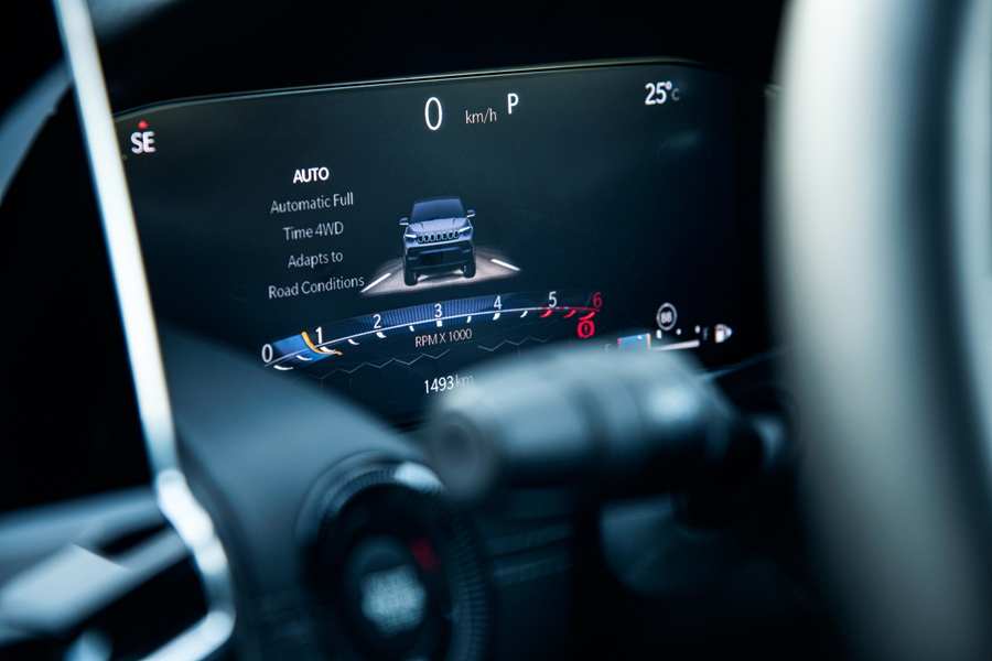 2021 Jeep Compass Instrument Cluster