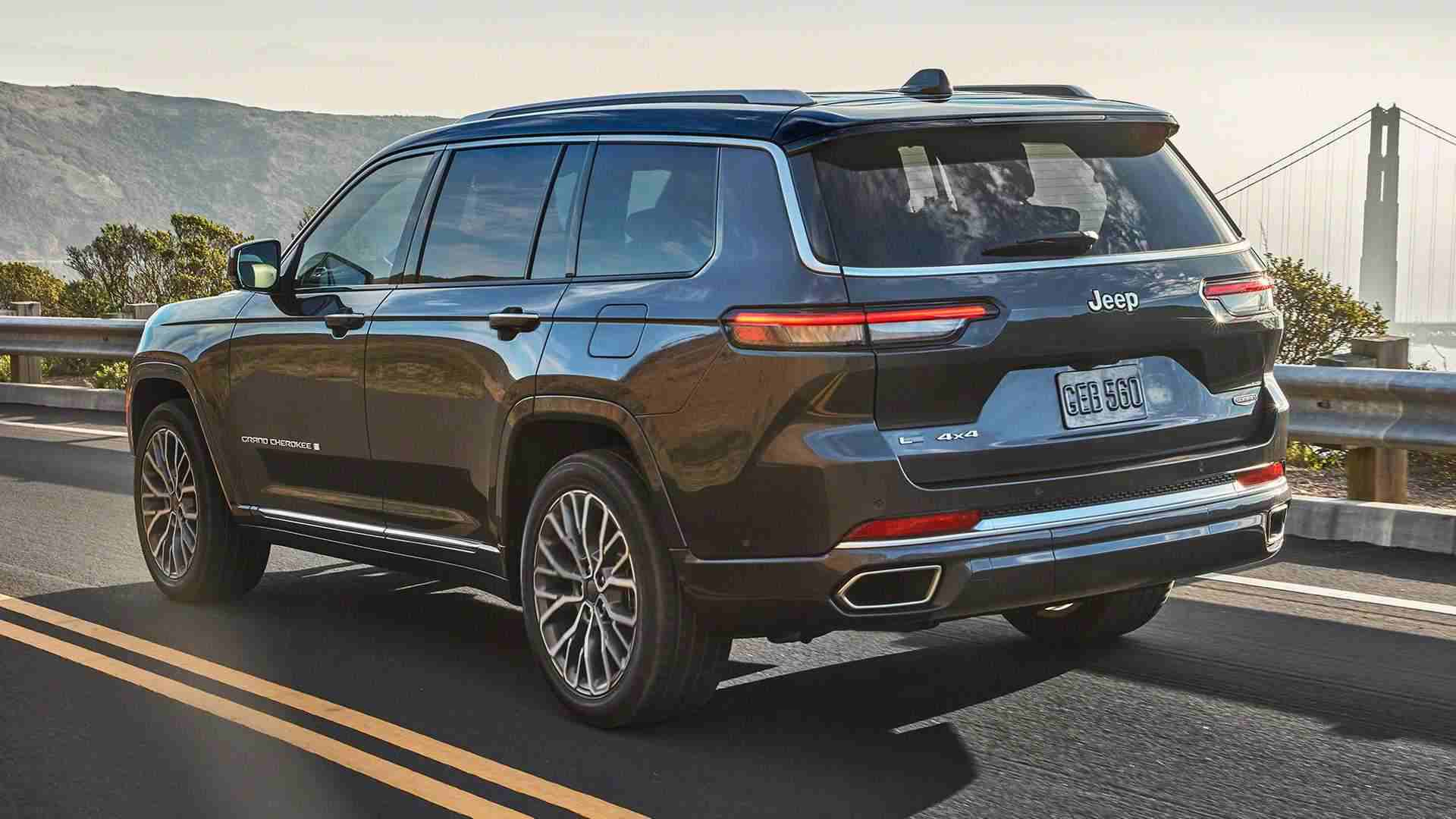 2021 Jeep Grand Cherokee L 7-seater SUV Unveiled