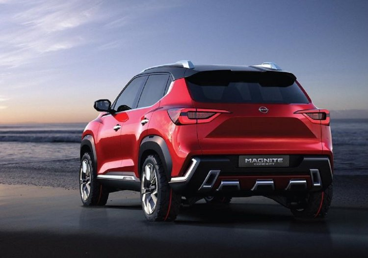 nissan-magnite-rear-red