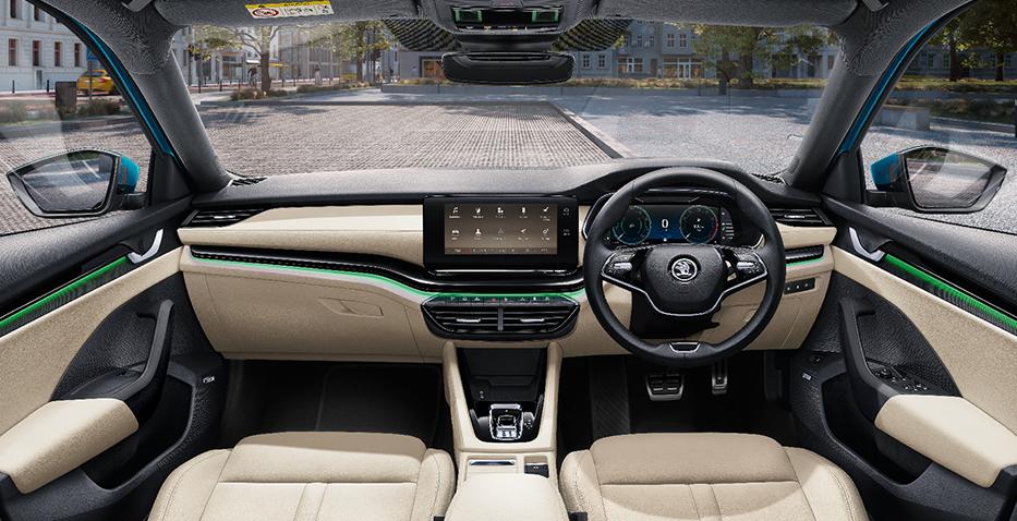 new 2021 skoda octavia interior features