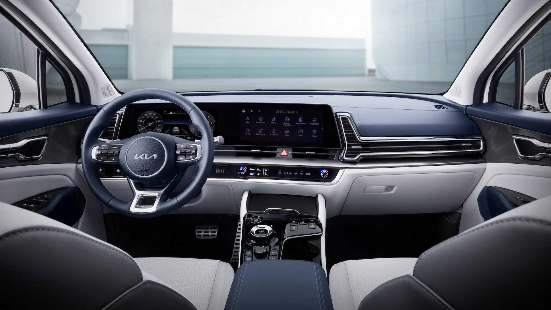 2022 Kia Sportage interior cabin design