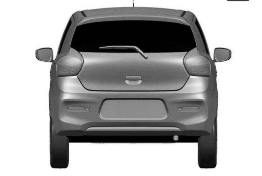 2nd gen 2021 maruti suzuki celerio design rear view