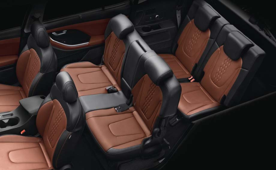 6 and 7 seater hyundai alcazar 3rd row seat real image