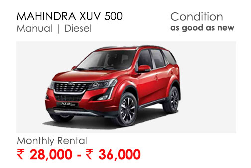 xuv500 car available for subscription online in india