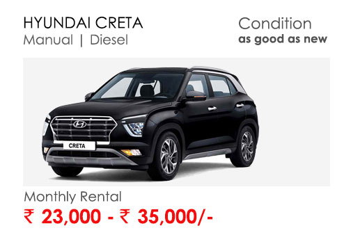 creta car available for subscription online in india
