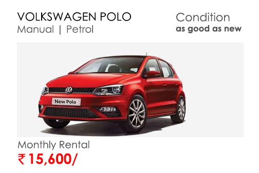 polo car available for subscription online in india