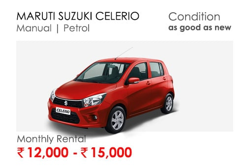 celerio car available for subscription online in india