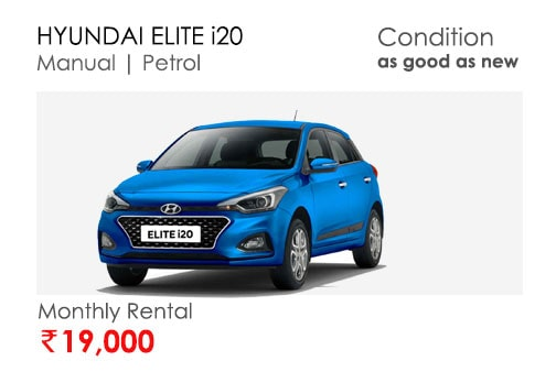 elite i20 car available for subscription online in india