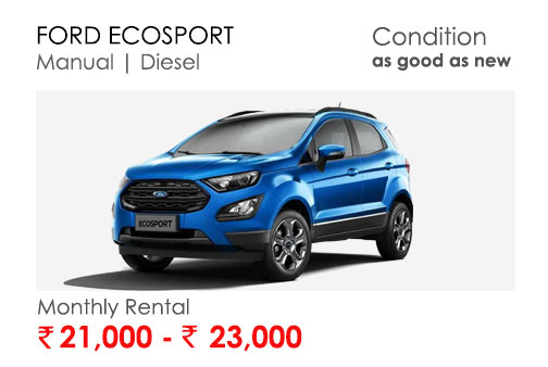 ecosport car available for subscription online in india