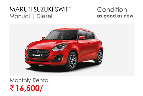 swift car available for subscription online in india