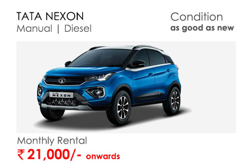 nexon car available for subscription online in india