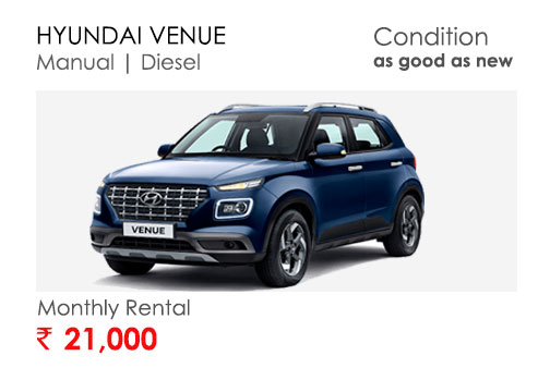 hyundai venue car available for subscription online in india