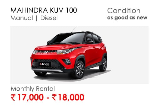kuv100  car available for subscription online in india