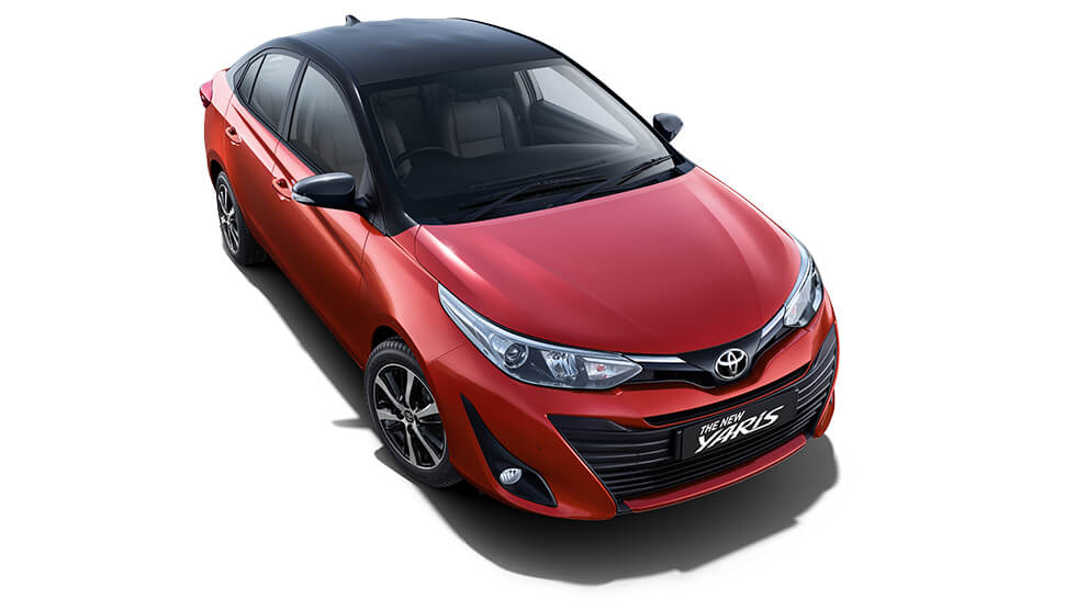 bs6 compliant toyota yaris exterior image
