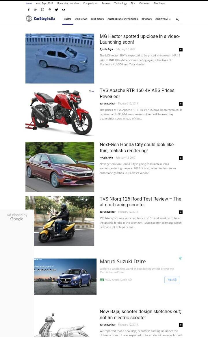 Carblog-India