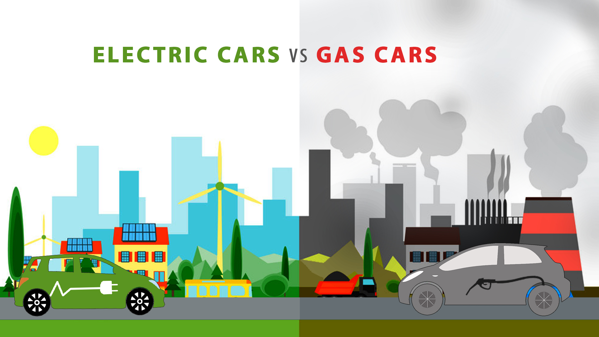 Electric-Cars-Vs-Gas-Cars