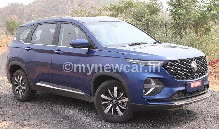 MG Hector Plus vs Maruti XL6 vs Mahindra Marazzo comparison