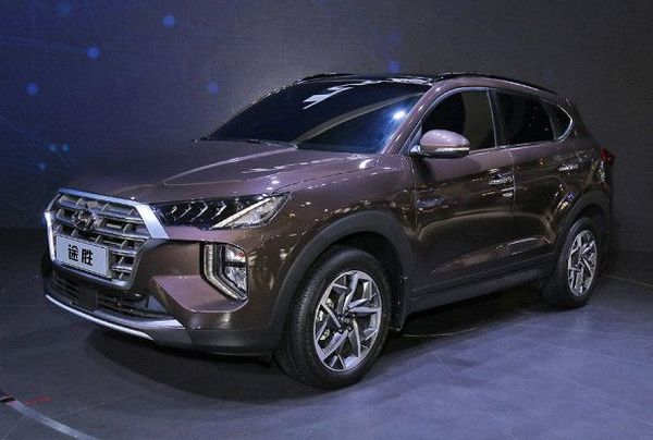 hyundai tuscon facelift auto expo 2020