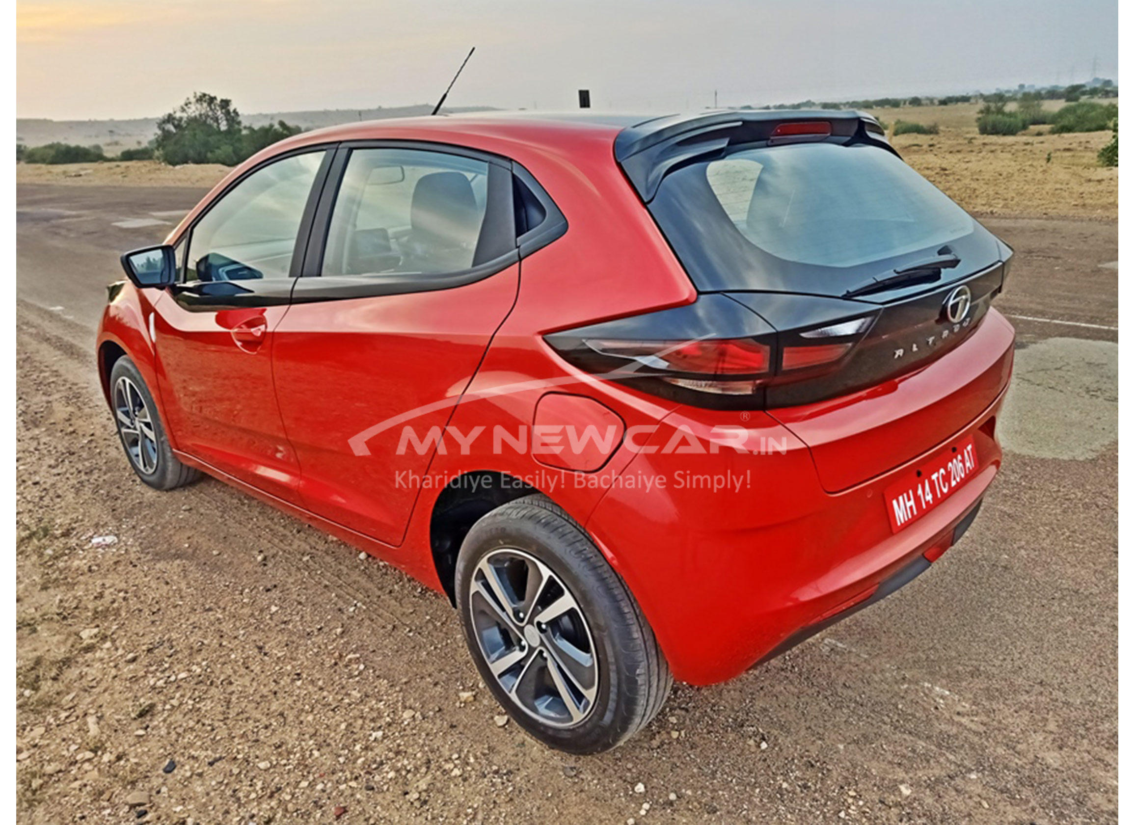 tata altroz bs6 back look image