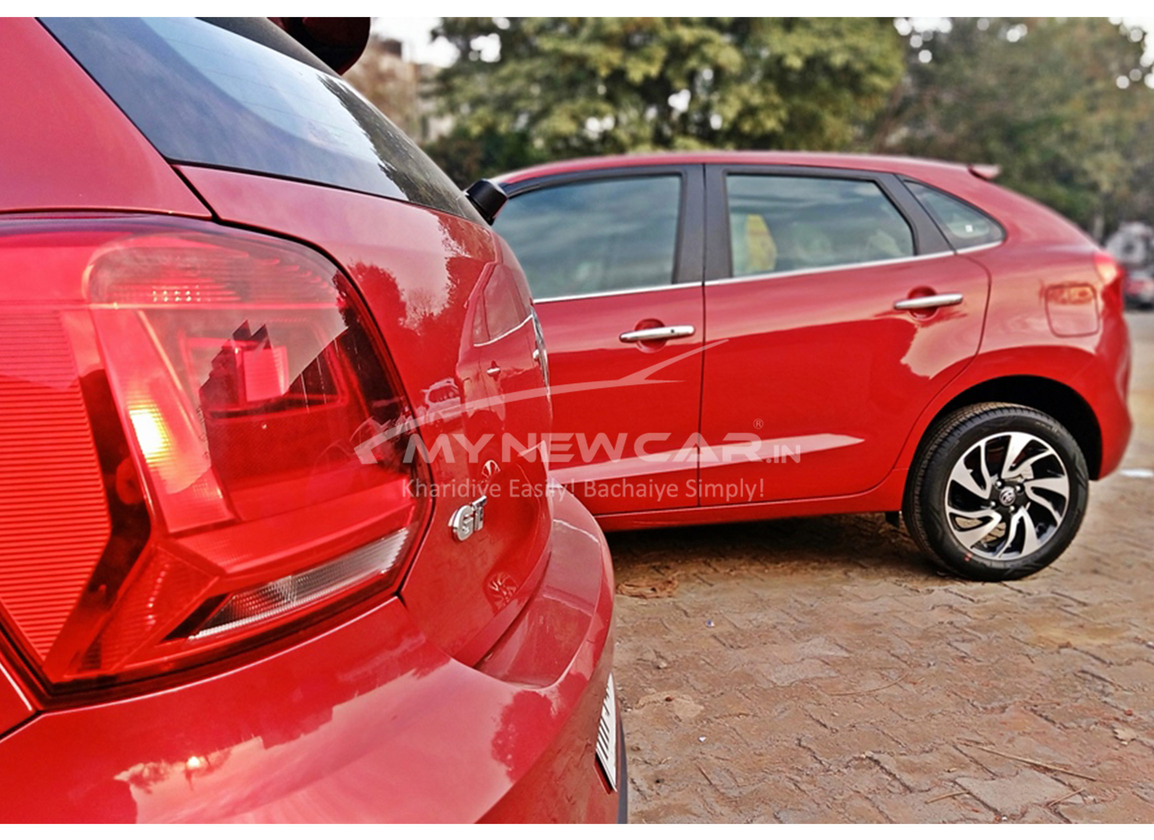 New Polo vs Glanza looks compare