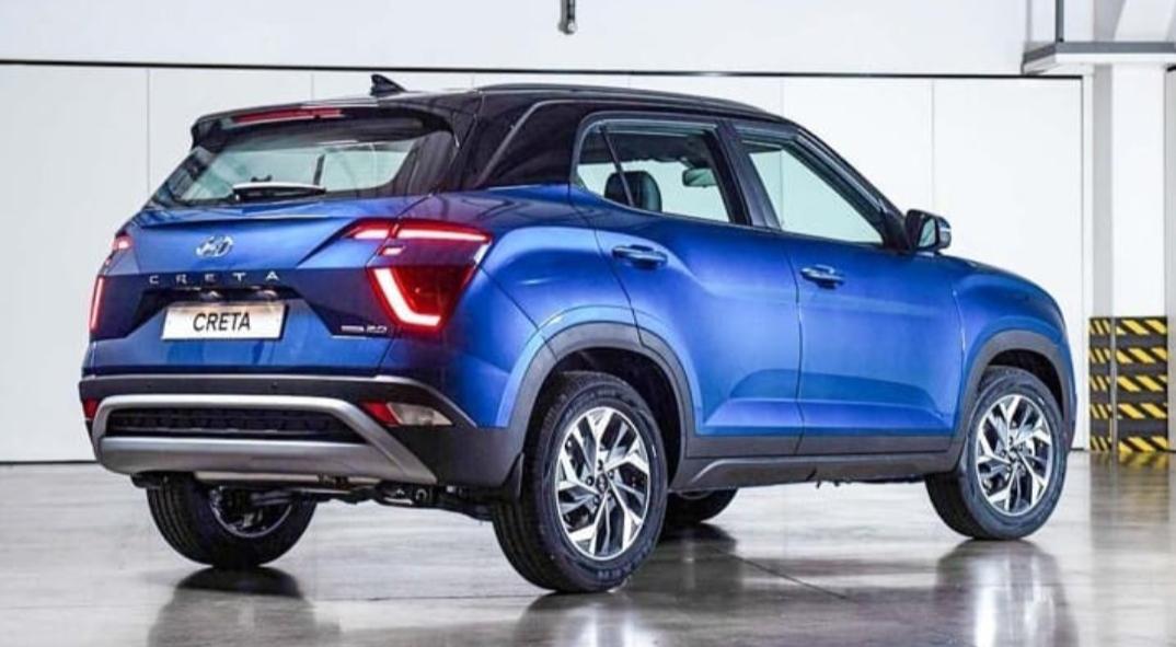 Facelifted Hyundai Creta revealed