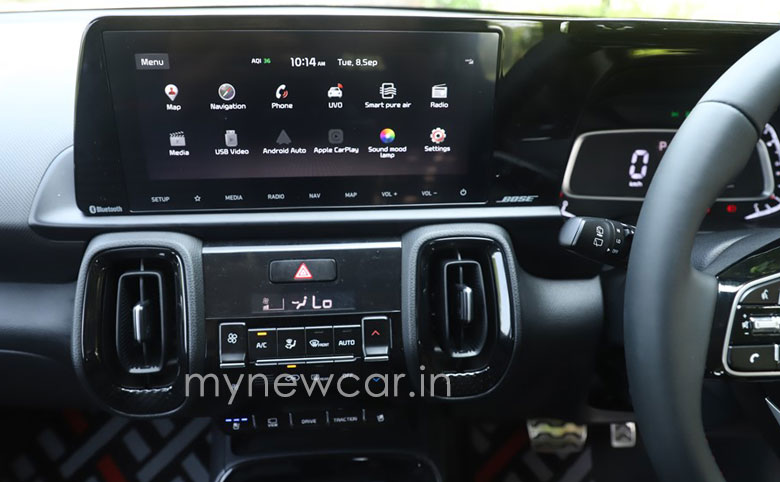 kia sonet dct features review