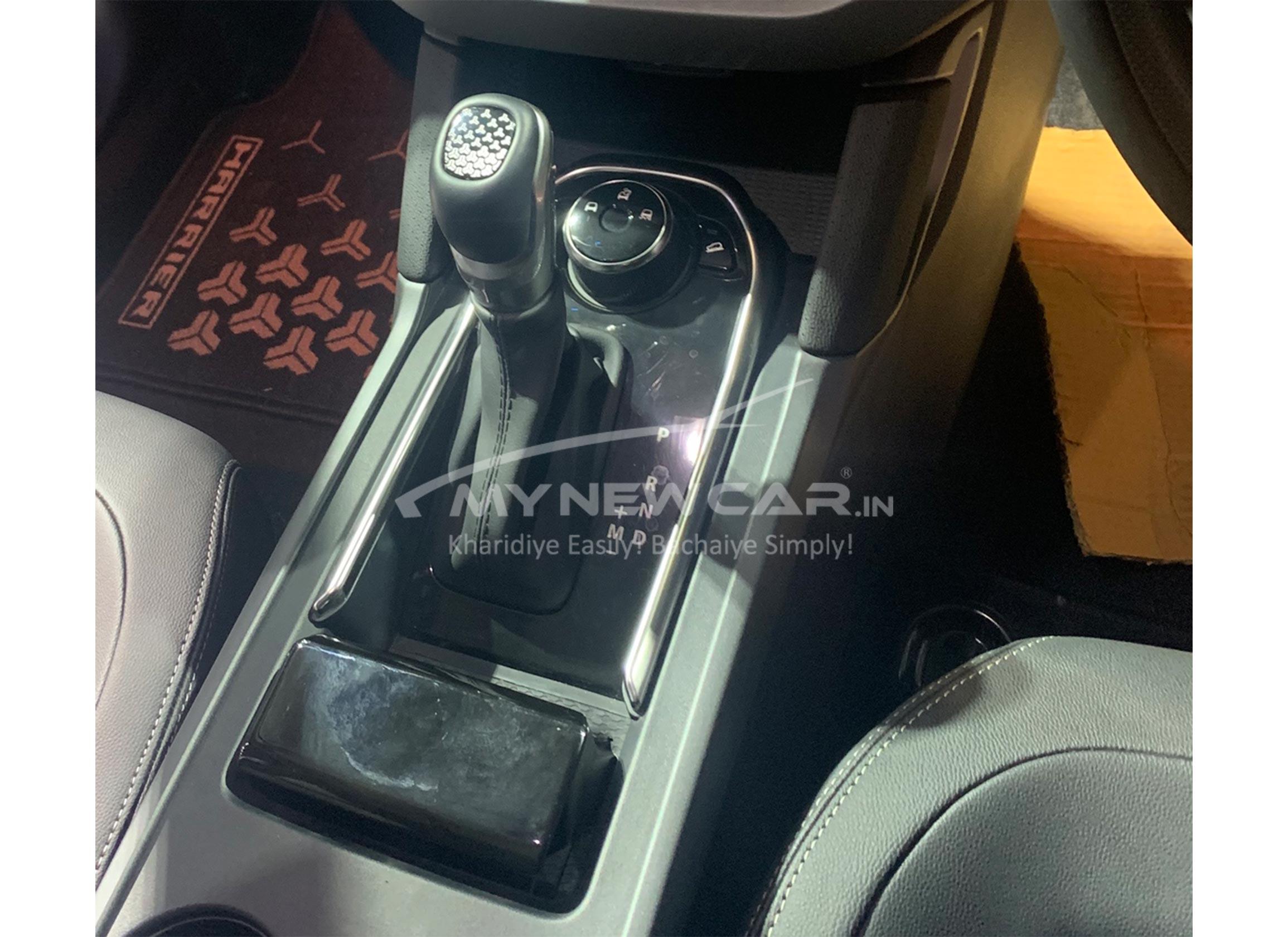 tata harrier b6 automatic car interior