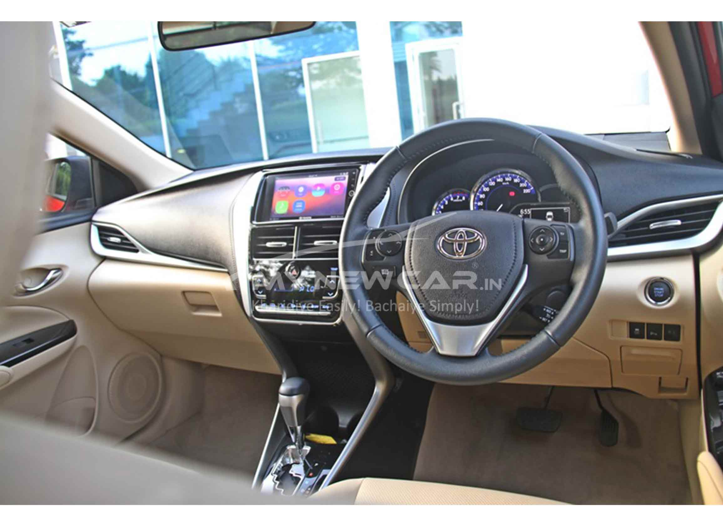 toyota yaaris interior