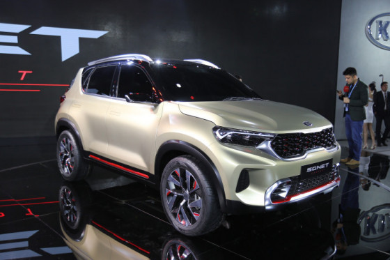 Kia Sonet auto expo 2020