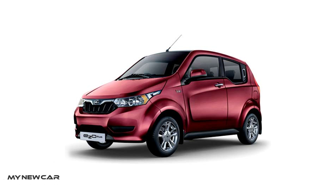 Mahindra_e2oPlus_Colour-Wine-Red