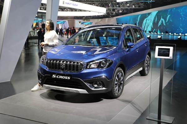 Maruti Suzuki S-Cross Petrol auto expo 2020