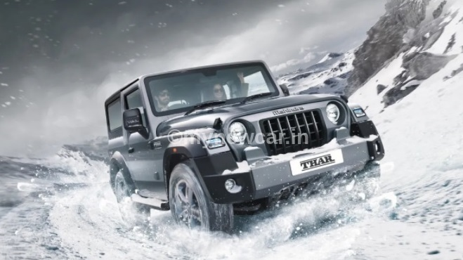 new-mahindra-thar-most-searched-car-india-trending