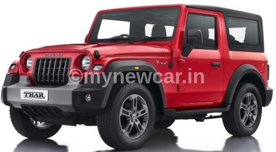 mahindra-thar-booking-price-red