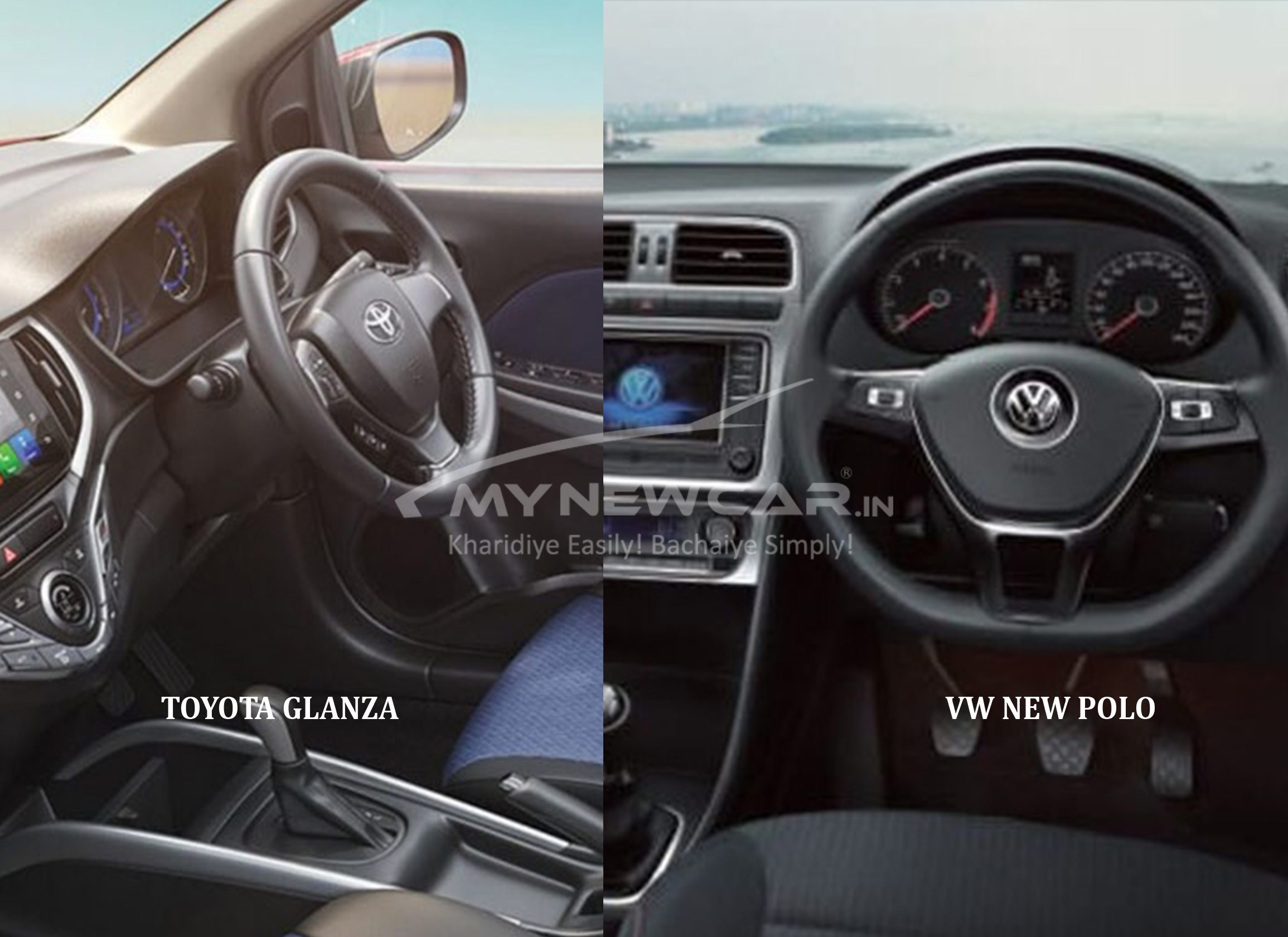 polo vs glanza interior