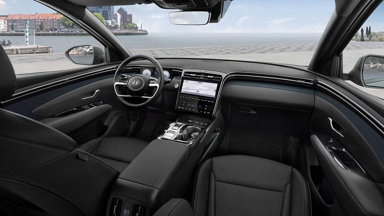 new hyundai tucson interior seats