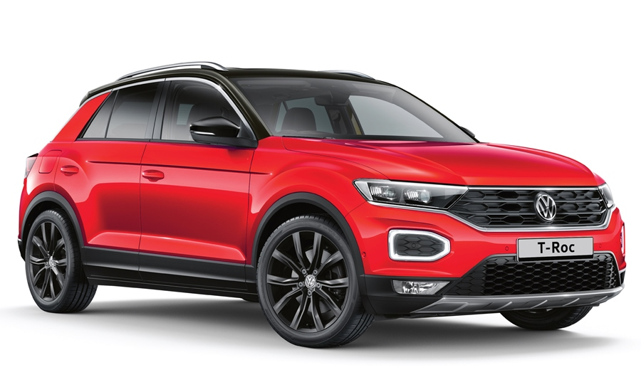 VW-T-Roc-Front-Exterior-Red