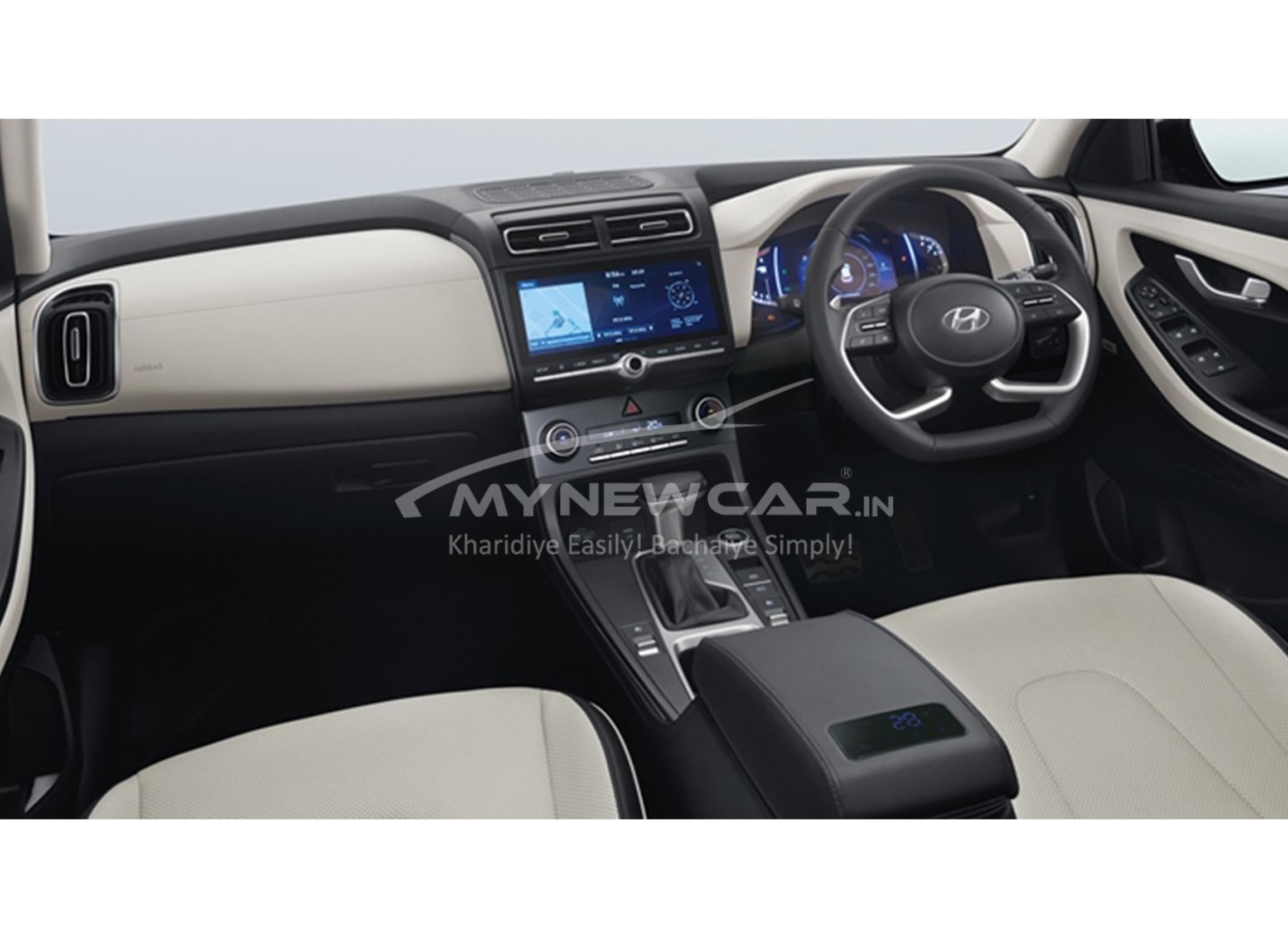 Hyundai creta interior image