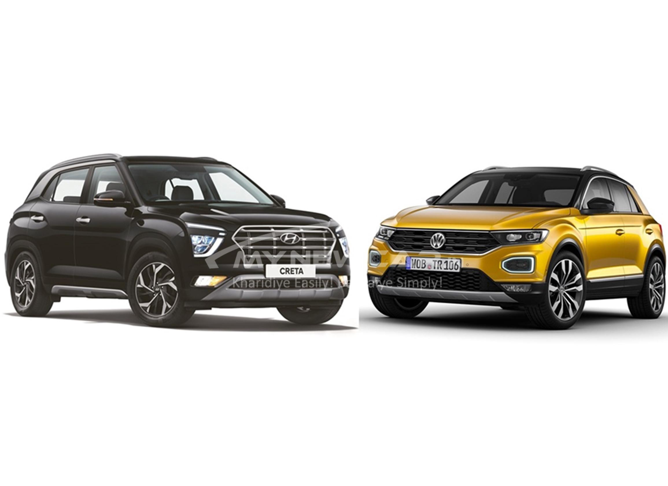 New Hyundai Creta vs Volkswagen T-roc image