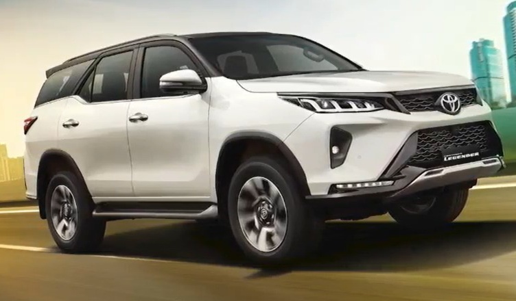 Toyota Fortuner Legender vs MG Gloster - Exterior Compare