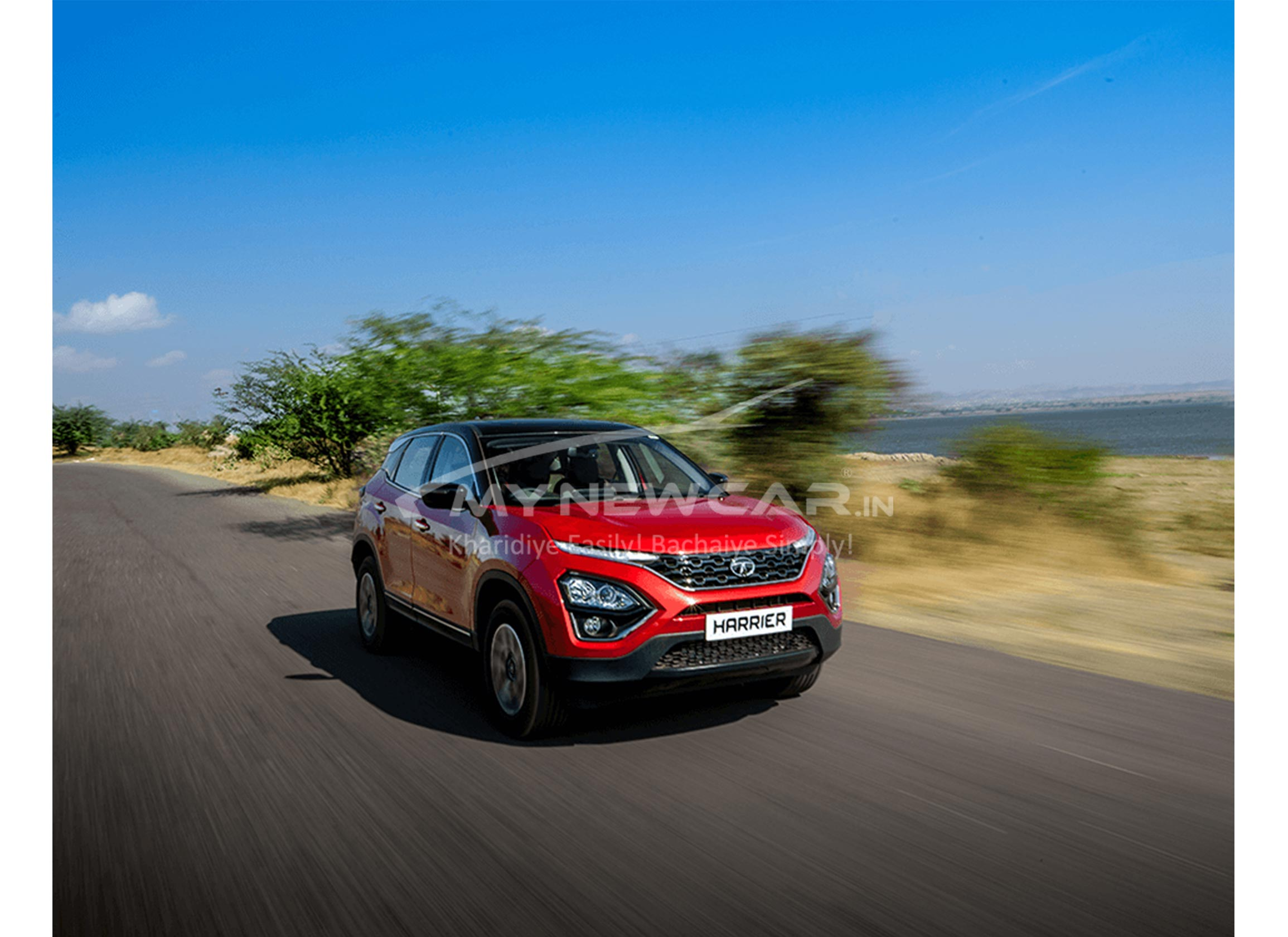 tata harrier b6 automatic car front image