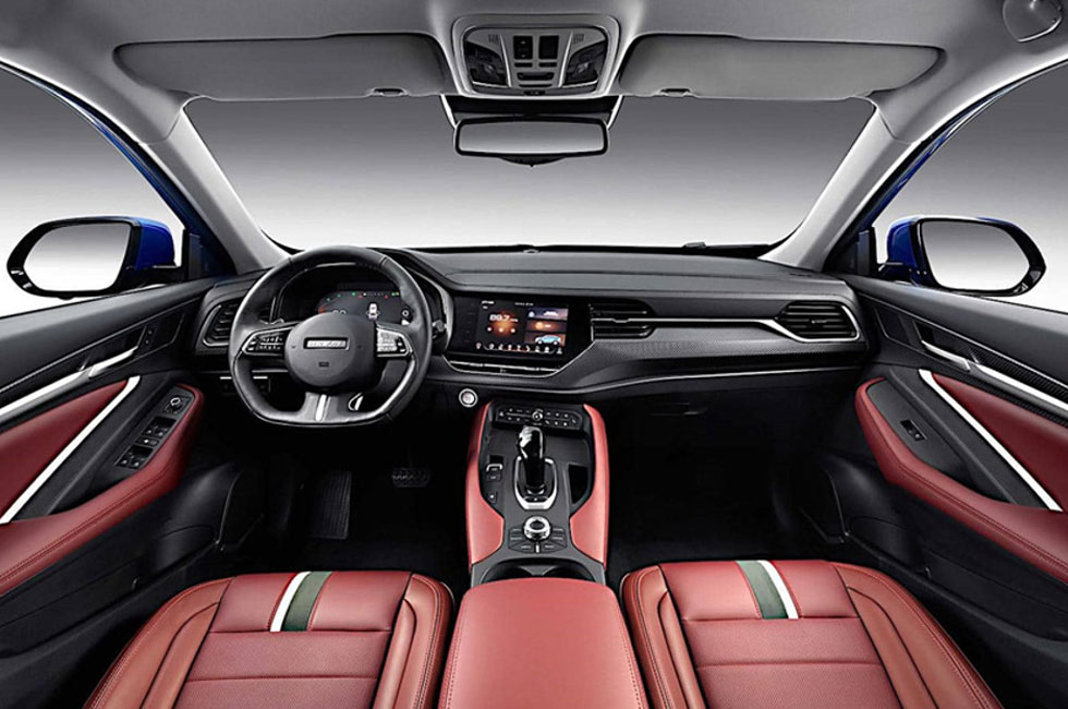 haval f7 interior front view features