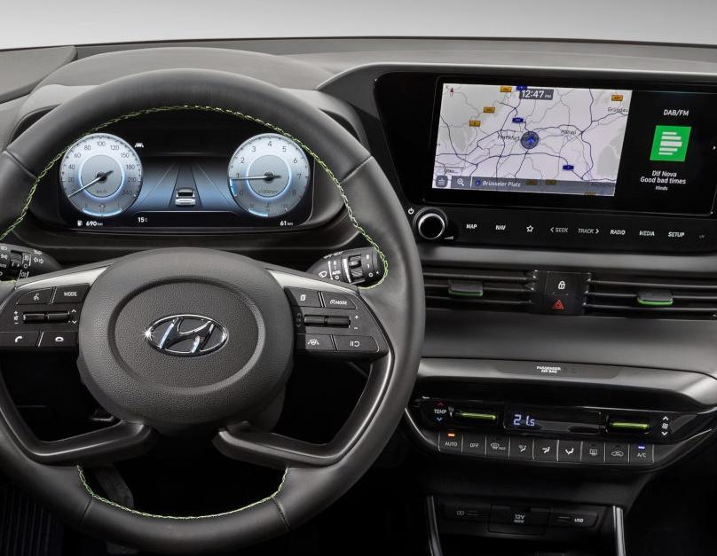 new hyundai i20 interiors image