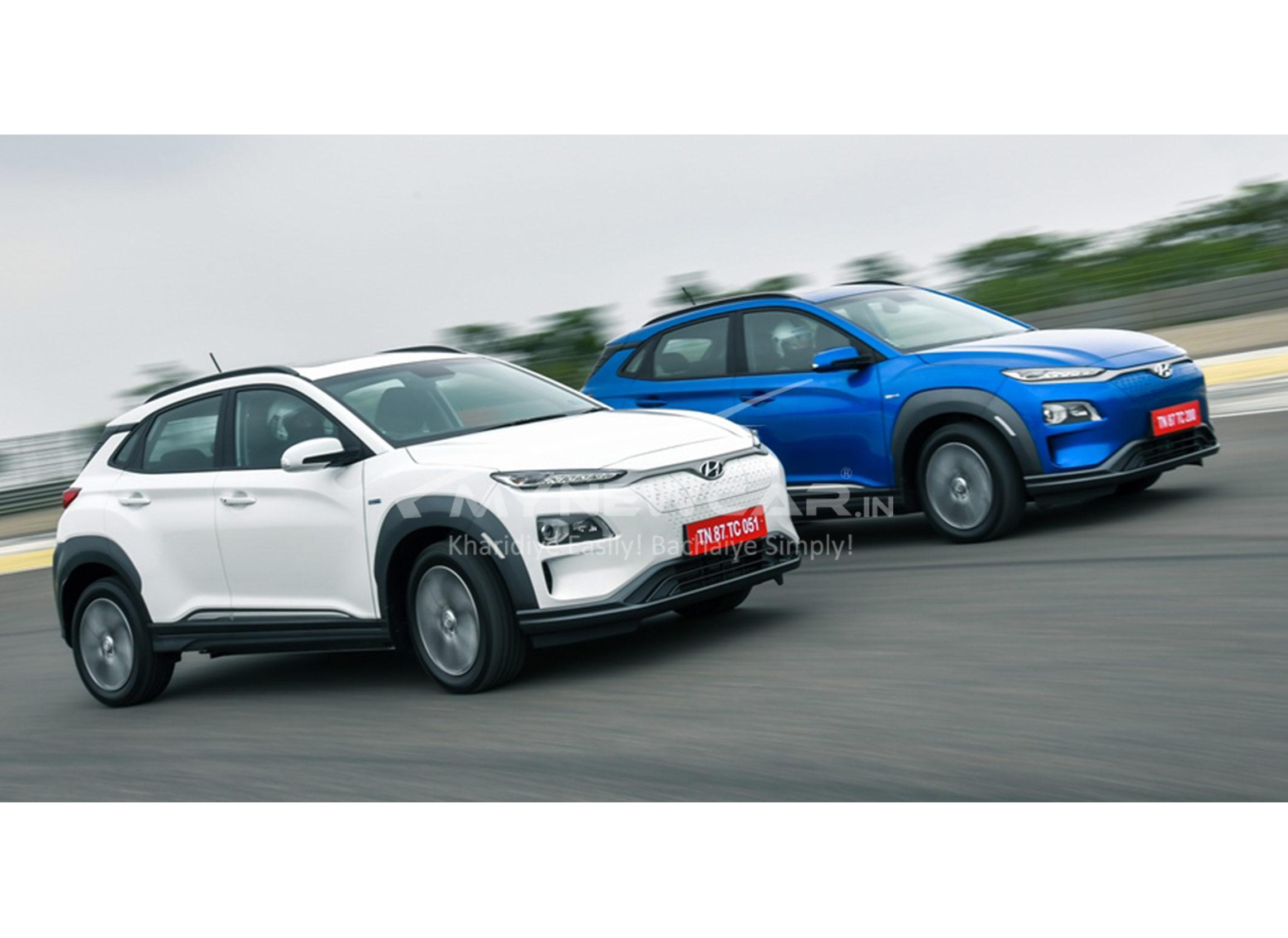 hyundai kona electric car image