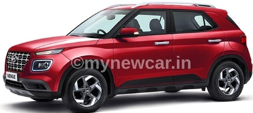Hyundai-Venue-red-looks-design