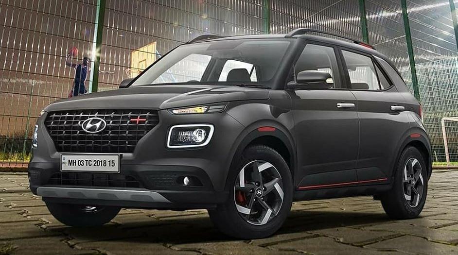 Hyundai Venue- Best Petrol Compact SUV