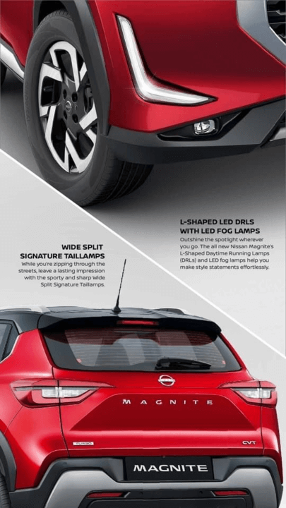 Nissan Magnite SUV Features