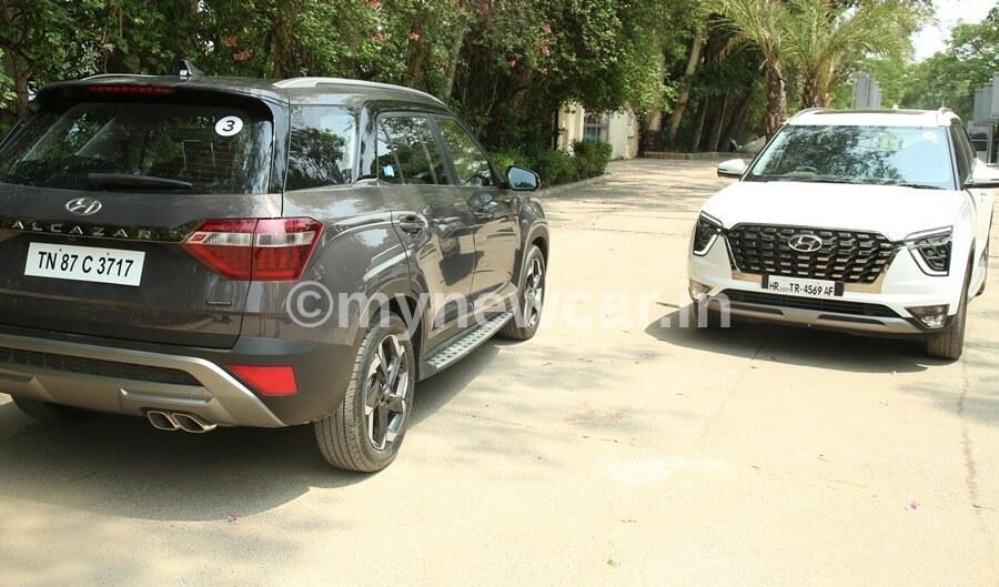Hyundai Alcazar diesel vs petrol