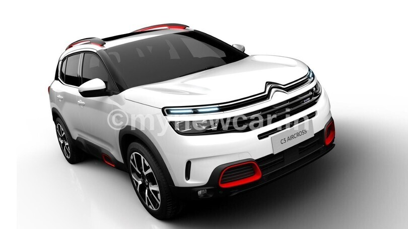 Citroen C5 Aircross new upcoming car in India 2021