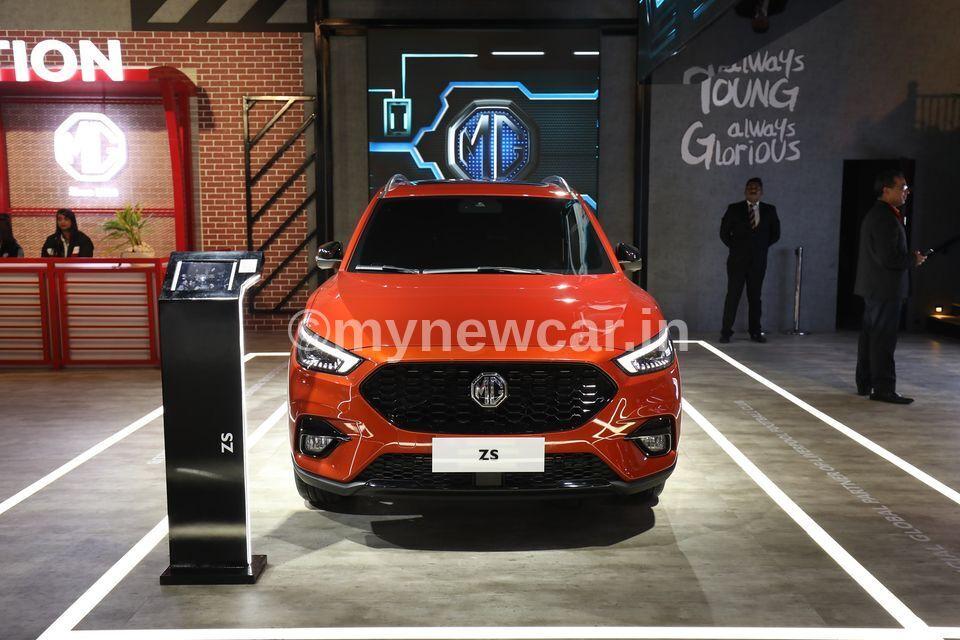 MG ZS Petrol new upcoming car in India 2021