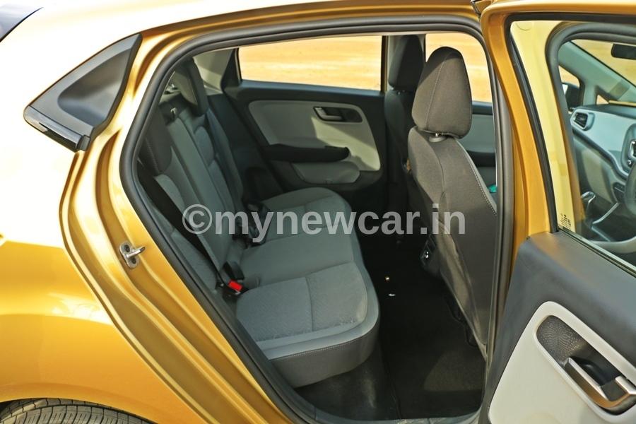 Tata Altroz Rear Seat